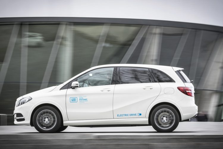 car2go B-Klasse electric Drive