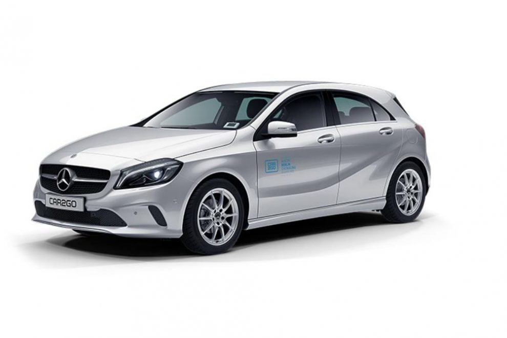 car2go Mercedes-Benz A-Klasse