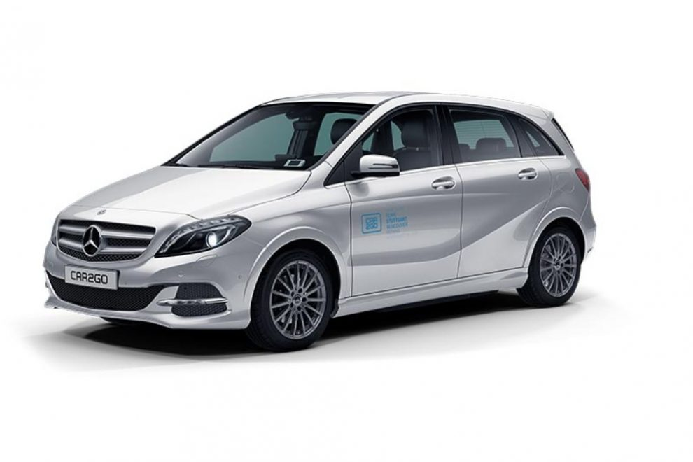 car2go Mercedes-Benz B-Klase