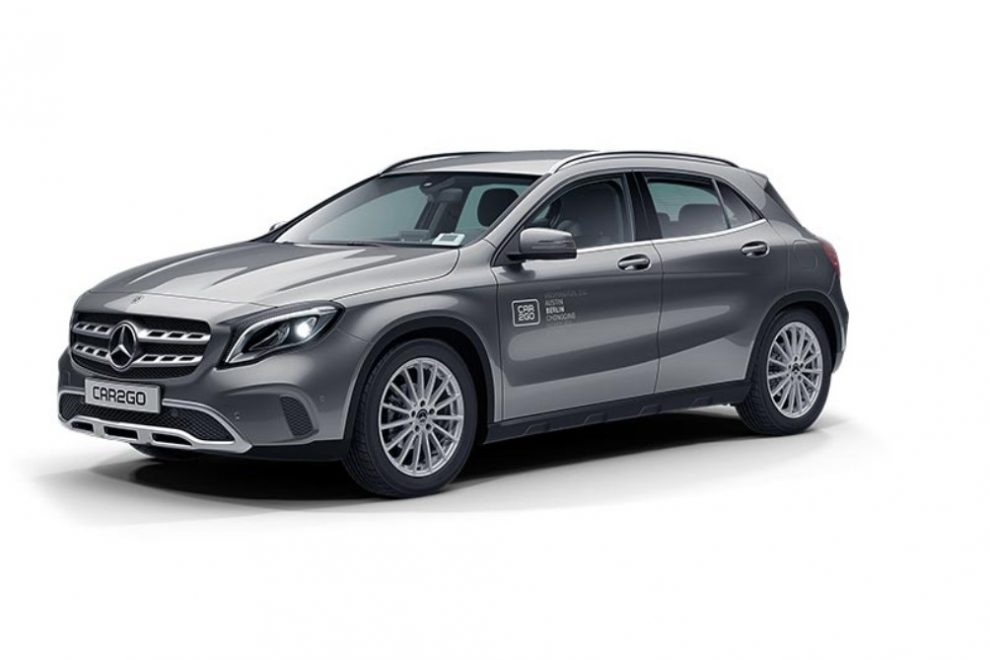 car2go Mercedes-Benz GLA
