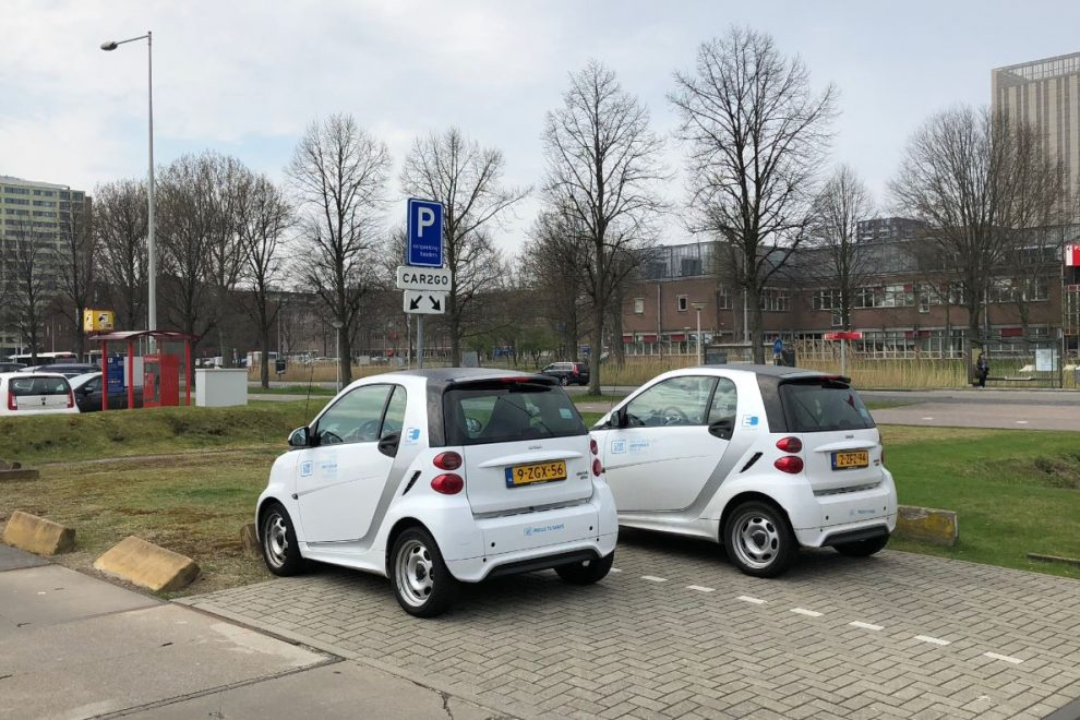 car2go Science Park Amsterdam