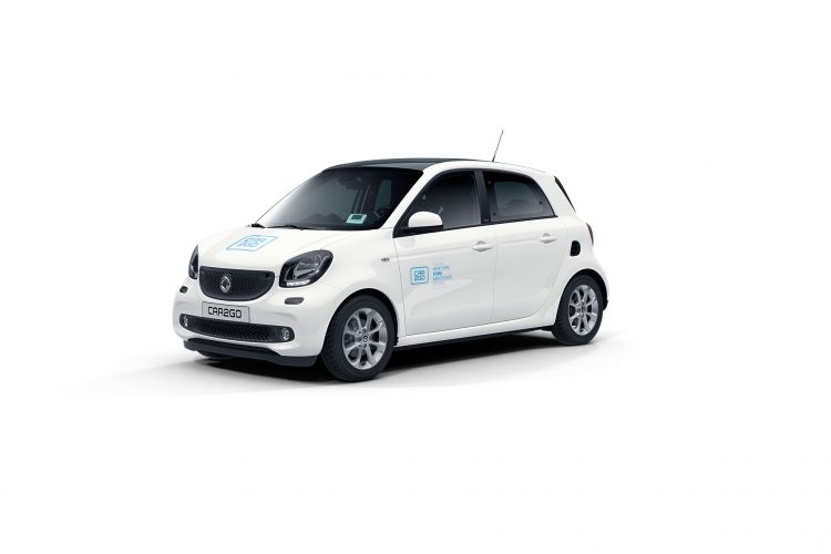 car2go Modell smart forfour