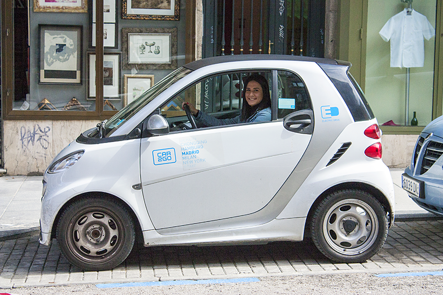 Olga car2go Madrid