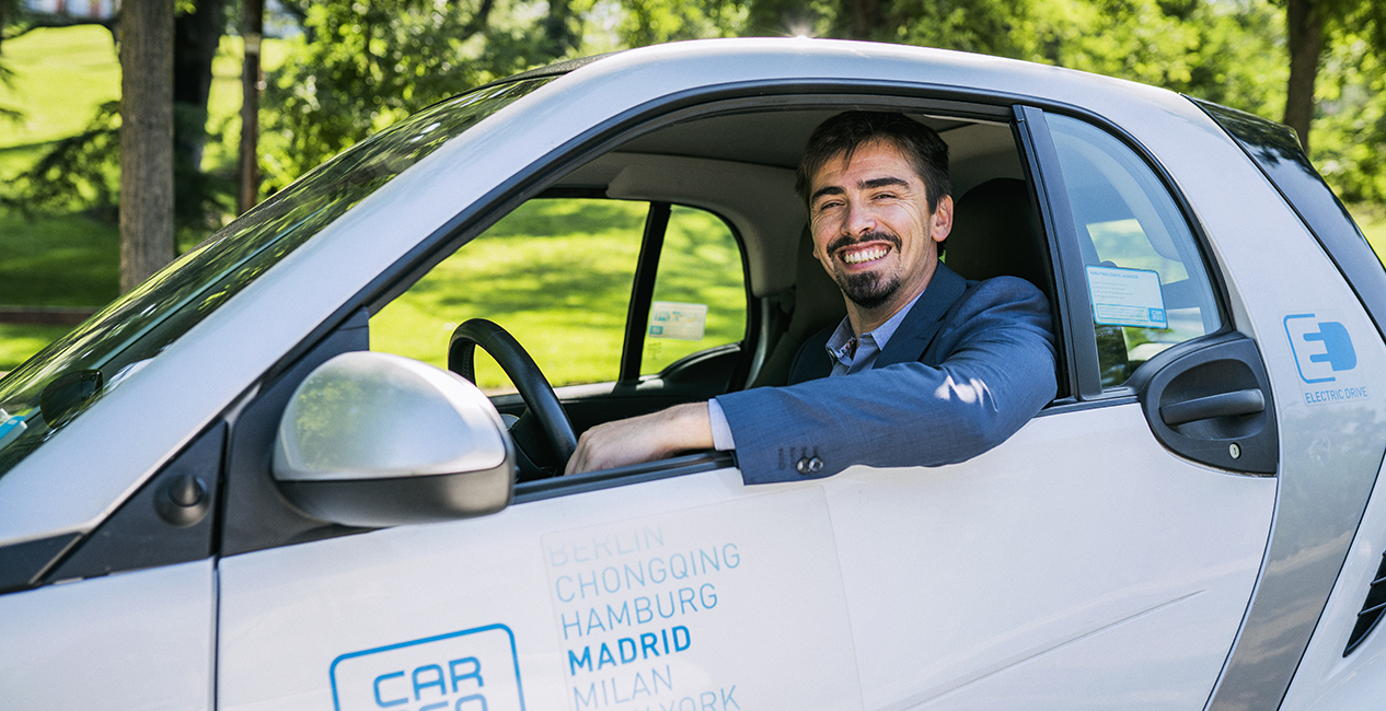 equipo car2go David Bartolomé