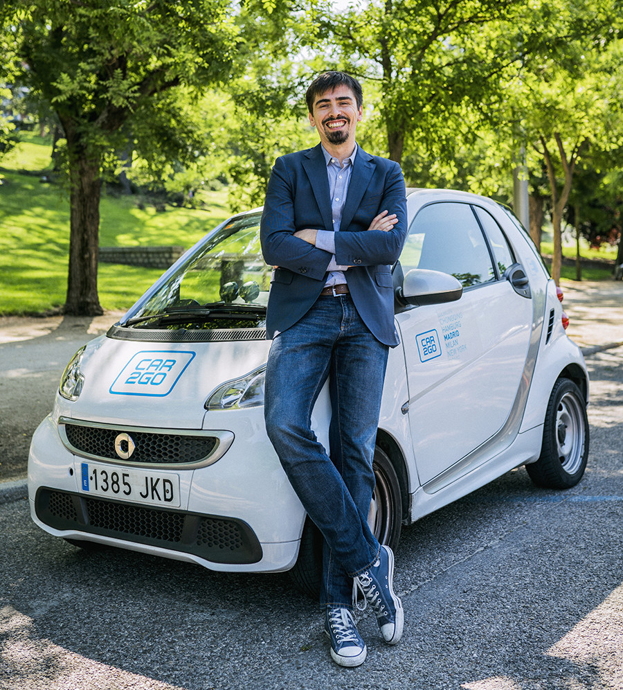 car2go David Bartolomé