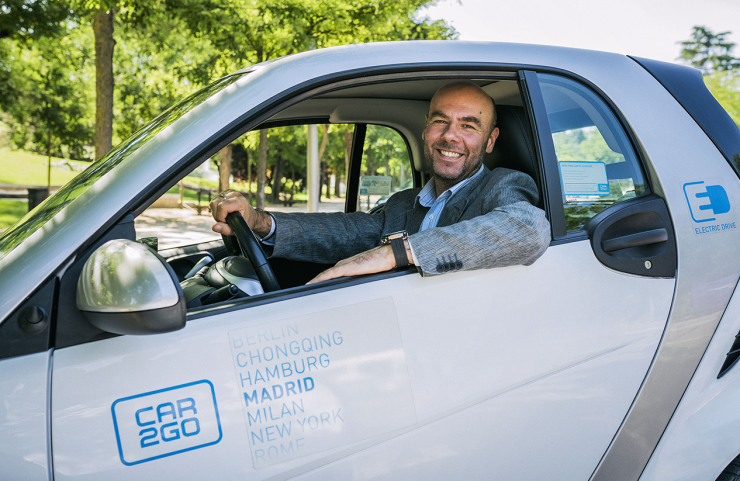 Orazio Corva car2go Madrid
