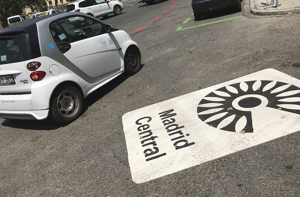Madrid central cuerpo, car2go