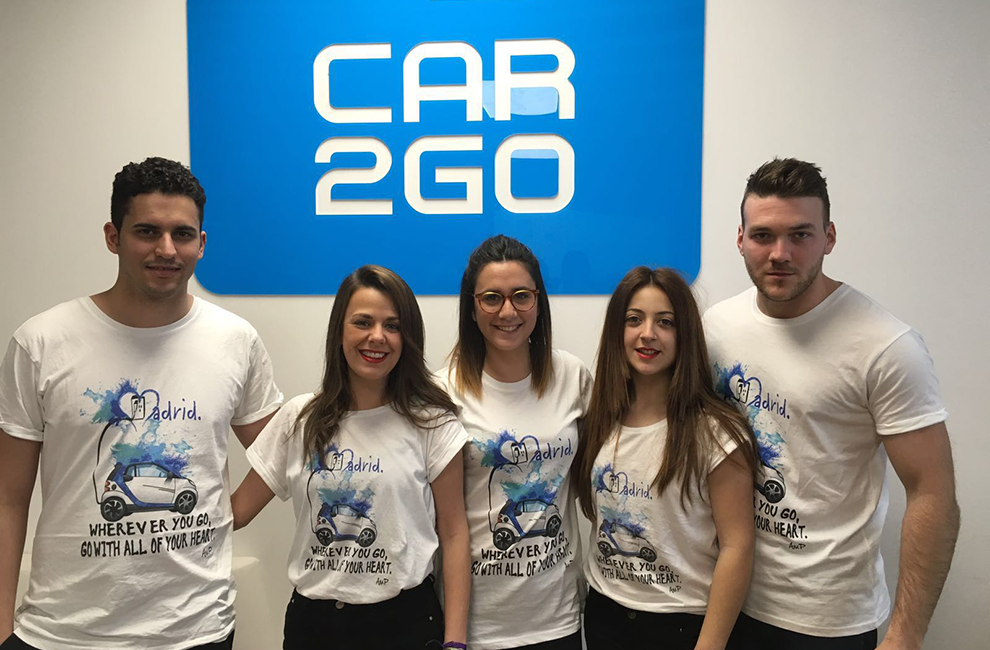 team Madrid 2015 car2go