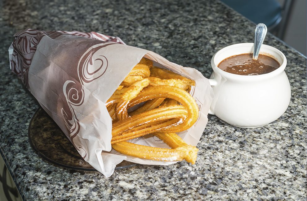 churros chocolate Madrid car2go