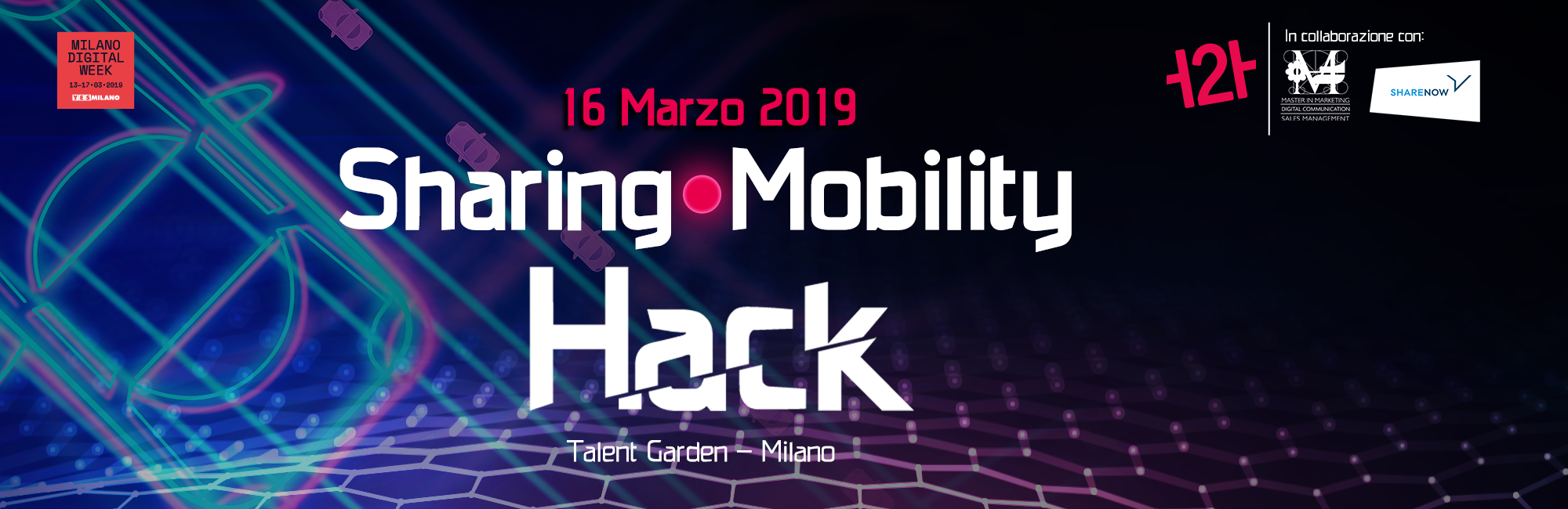 Sharing Mobility Hack, Hackathon, Milano Digital Week, H2H